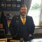 Gareth at the Macdonald Holyrood Hotel--a great concierge!