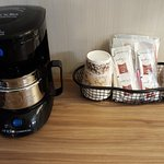 Complimentary coffee in every room