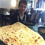 My son's first proper Balti and table naan. Great food, good prices and friendly staff. Was pack