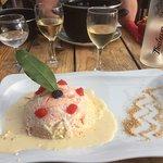 Plaisir gastronomique face à la mer
