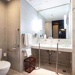 Bathroom of Wheelchair Accessible Room