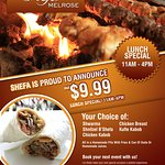 Shefa Lunch Special
