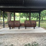 Pavilion and BBQ Pits make Independence Park a great gathering spot