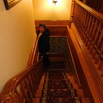 Going down the stairs to Lobby/ Parlor
