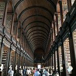 Trinity College Library, two blocks away
