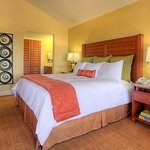 Kick back and relax in our spacious King Bed Guest Room