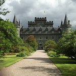 The view, the property and Inverary castle