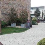 Eingang Restaurant Riva von außen, So leider geschlossen