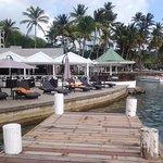 Foto de Marigot Beach Club and Dive Resort