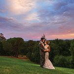 Sunset Wedding (c)Orbie Pullen Photography