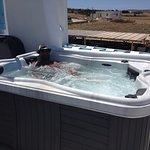 Hot tub at Asterias