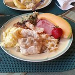 Heavenly breakfast at the Rosemont Inn.