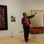 Knowledgable docent