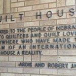Quilt House dedication