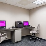 Stay connected with computers and more in our new business center