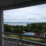 View from the balcony - 3rd floor room