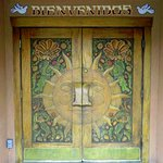 Restaurant door