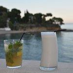 cocktail sur la terrasse lounge