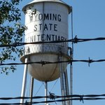 Water Tower Wyoming State Pen
