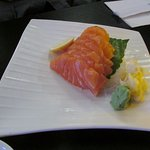 One of the dishes from Ebisu Sushi Bar