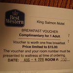BEST WESTERN King Salmon Motel Foto
