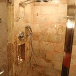 Shower in Pacific Club room