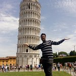 the leaning tower of pisa,a nice place to go not more than two houre excursions