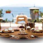Interno e esterno ristorante