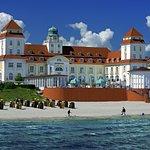 Das Kurhaus Restaurant befindet sich im Travel Charme Kurhaus Binz