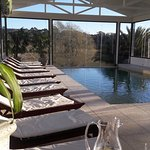 Nueva piscina climatizada cubierta