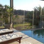 Vista desde la piscina