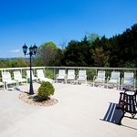 Relax on our sunny patio