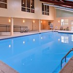 Take a refreshing swim in our indoor pool