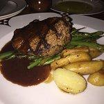 Steak with fingerling potatoes