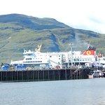 De haven van Ullapool