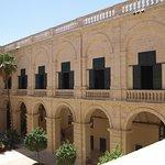 La cour intérieure du Palais, depuis le 1er étage
