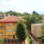View from room - Vitosha Mountain in the back