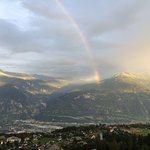 Arc-en Crans Montana & Rainbow in Crans Montana