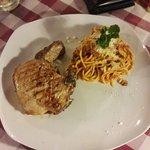 Pork shop spaghetti bolognaise