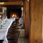 Salon cheminée - Restaurant du Golf