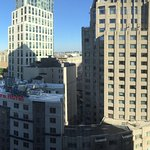 panoramic view from the room, faces north
