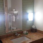 Remodeled bathroom in tower room