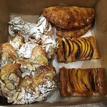 Pastries were so delicious we had to get some to go!
