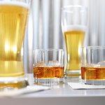 Bourbon & drafts.