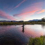 Fly fishing at Sundance