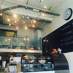 Snap shot of counter of avenue coffee