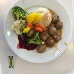 Swedish Meatball dinner for $5.00
