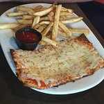 Kids Pizza with fries