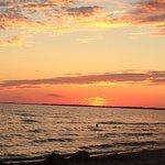Sandbanks sunset Aug. 2016