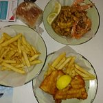 Photo de Lucky Fish and Chips Restaurant